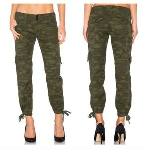 Sanctuary Camouflage Terrain Crop Cargo Pants